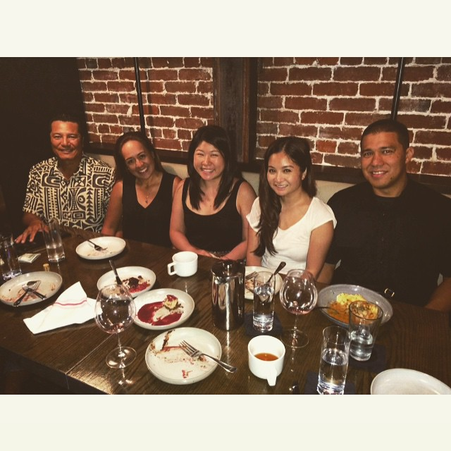The food is so good here :) #livestocktavern #downtownhonolulu #withfriends #dinner