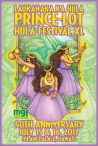 PUA ALIʻI ʻILIMA TO OPEN PRINCE LOT HULA FESTIVAL WITH GUEST RAIATEA HELM
